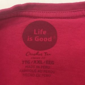 Life Is Good Tops - Life is Good Crusher Tee Classic Fit T-Shirt 2XL